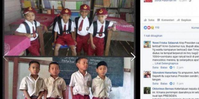 Siswa SD Ini Bikin Video Minta Tas ke Presiden Jokowi