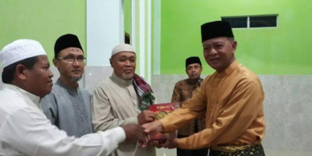 Wakil Walikota Tanjungpinang Bangga Warga Wonosari Kompak Bangun Masjid