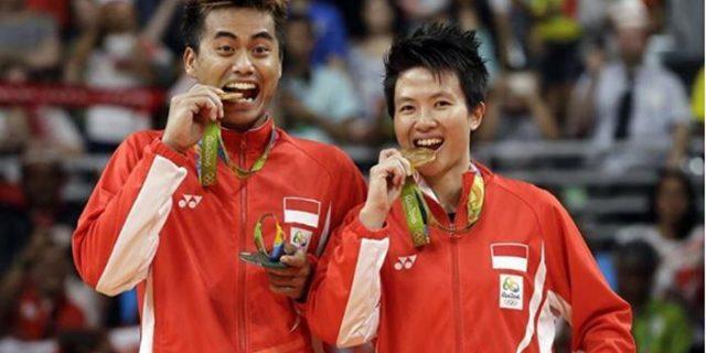 Begini Perasaan Tontowi/Liliyana Usai Menyumbangkan Emas Untuk Indonesia