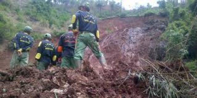 longsor di Bali 12 tewas tertimbun