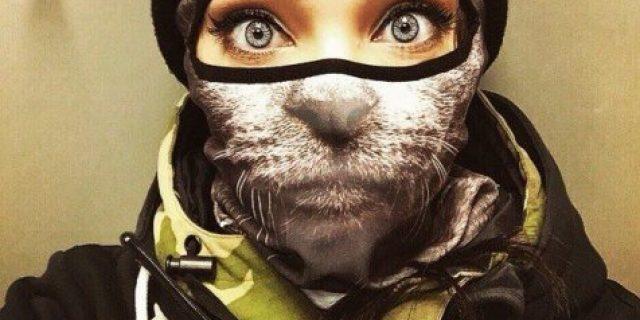 Tren Topeng Binatang Imut Dari Rusia, Anda Suka?